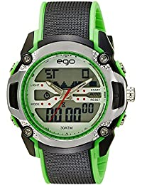 Ego by Maxima Analog-Digital Multi-Color Dial Unisex Watch - E-33240PPAN