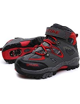 [Patrocinado]Zapatos de Algodón Botas Para la Nieve Botas de Invierno Para Niños Botas de Senderismo Cálido Forro Botas de...
