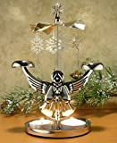 Angel Chimes Candle Spinner - Snowflakes...