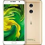 InnJoo Fire 4Plus Smartphone (2+ 32GB) Dual Sim 4G 5,5FHD IPS Dual-Kamera 13Mpx Octacore Sensor 1.5GHz von Fingerabdrücken Gold