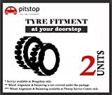 #9: Pitstop Tyre Fitment upto 2 Tyres at Doorstep for all cars