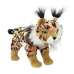 Wild Planet- All About Nature-26cm Lince Iberico-Hecho a Mano, Peluche Realistico,, 33 cm (K8348)