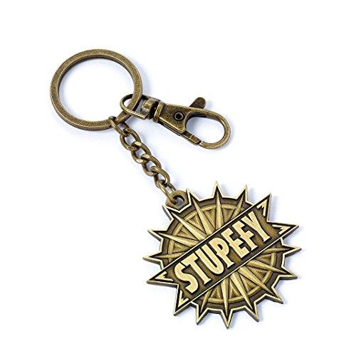 Fantastic Beasts Keychain Stupefy (antique brass plated) Other Portachiavi