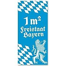 """Badetuch """"1 qm Freistaat Bayern"""""""