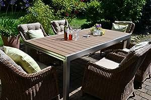Amazon.de: bomey Rattan Lounge Set I Gartenmöbel Set Capri