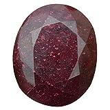 Piedra de rubí natural certificada con rubí rojo, 2686.50 ct, rubí de corte ovalado, rubí africano, piedra de rubí grande DV-963