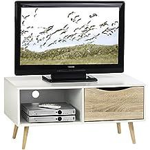 Amazon Fr Meuble Tv 90 Cm