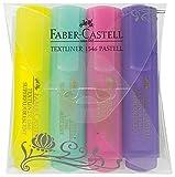 Faber-Castell 154610 - Textmarker TEXTLINER 1546 pastell