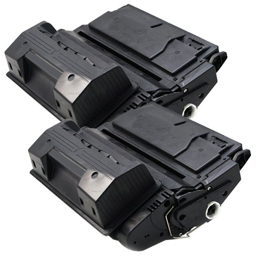 2x Laser-Toner XXL Schwarz kompatibel zu HP Q1339A 4300 4300DTN 4300DTNS 4300DTNSL 4300N 4300TN PlatinumSerie 4300tn Laser