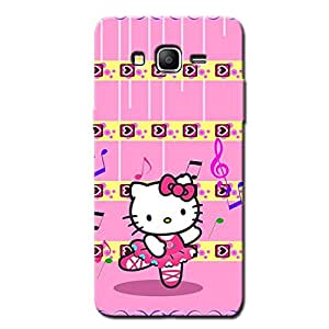 PINK TEDDY KITTY BACK COVER FOR SAMSUNG J3