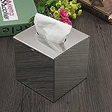 Cube Edelstahl Toilettenpapier Box Tissue-BehŠlter-Kasten Papierhalter