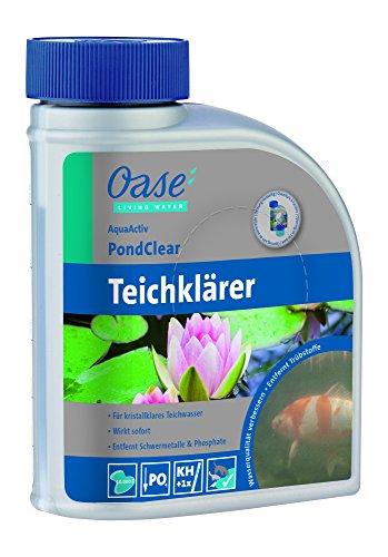Oase AquaActiv PondClear 500 ml Teichklärer, Silber