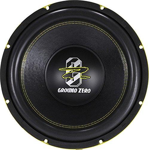 Amplificador para subwoofer Ground Zero GZIA 1.1000dx-ii 1000/Wat RMS monoaural gancho Clase D