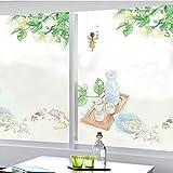 HAOLY Statische Matt Fenster Glas klar Film,Aufkleber Schattierung,Blickdichter Badezimmer Home Küche Badezimmer Aufkleber-A 137x70cm(54x28inch)