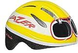 Lazer Kinder Helm Bob Goggle Yellow Muster, Uni