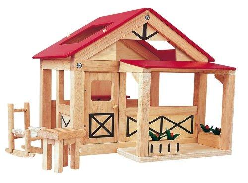 Imagen principal de Plantoys 7158 - Casa de campo en madera [importado de Alemania]