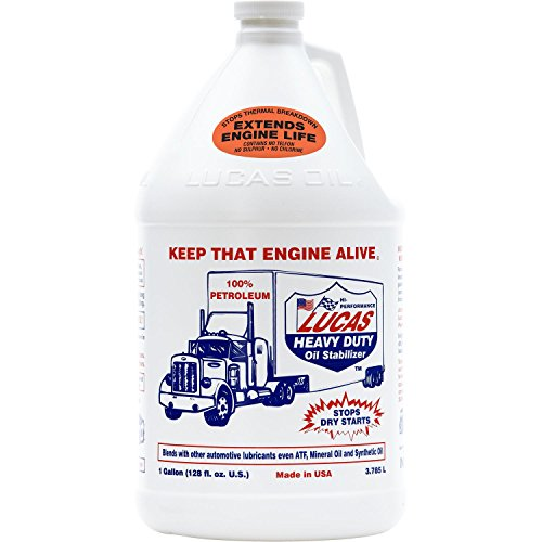Lucas Oil 10002 Heavy Duty Oil Stabilizer, 3.785 Litre