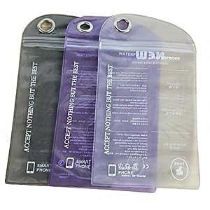 Solid Color sac plastique étanche pour iPhone 5/5S (couleur aléatoire)