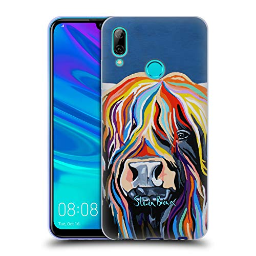 Price comparison product image Official Steven Brown Harris Mccoo Highland Cow Collection 1 Soft Gel Case for Huawei P Smart (2019)