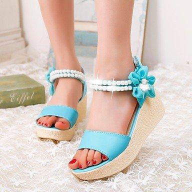 LvYuan sandali primavera estate delle donne altro vestito pu almond