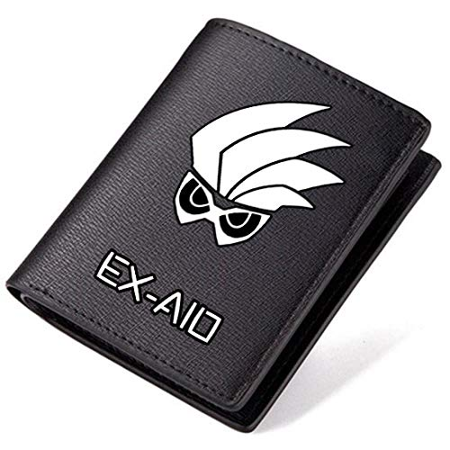 der Zi-O Jahrzehnt Leder Geldbörse Herren Geldbörsen Kreditkarteninhaber Student Coin Pocket Purse, A2 ()