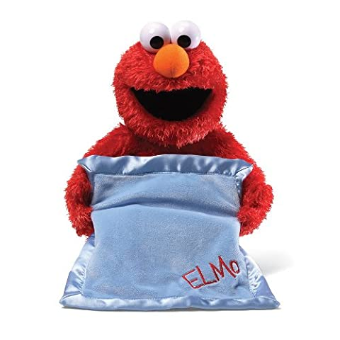 GUND Sesame Street Peek A Boo Elmo Animated Toy