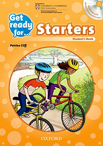 Get Ready for Starters. Student's Book + CD Pack por Petrina Cliff