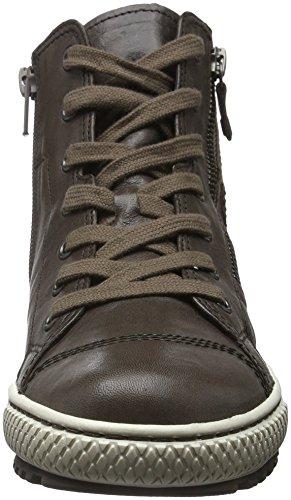 Gabor Jollys, Sneaker Hautes Femme Marron (Asphalto 79)
