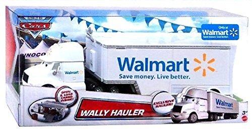 Disney Cars Camion - Walmat camion - Wally camion - Zona di carico per Aperto