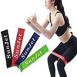 Set aus 4 Fitnessbändern - Fitnessbänder