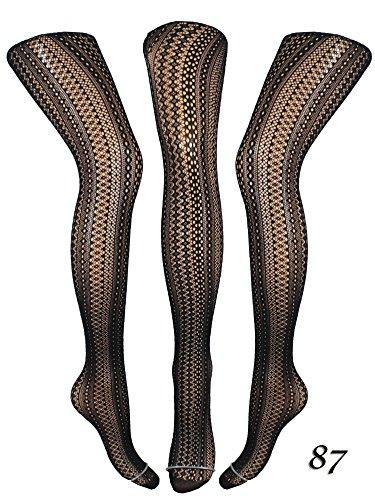 Damen Strumpfhose (Netzstrumpfhose, Feinstrumpfhose) (Modell 87) - 2