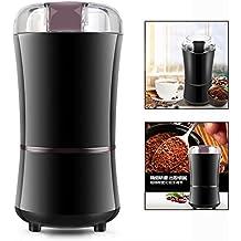 OFKPO Molinillo de café eléctrico - Molinillo Eléctrico de Café Nueces Semillas y Especias (negro)