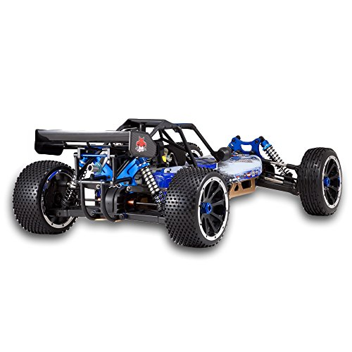 RC Buggy kaufen Buggy Bild 1: Redcat Racing Rampage DuneRunner V3 4x4 Gas Buggy (1/5 Skala), Blau/Schwarz*