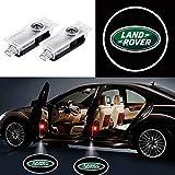 KVCH 2 piezas Luz de Bienvenida LED puerta del coche Logotipo del proyector Fantasma Sombra Luces