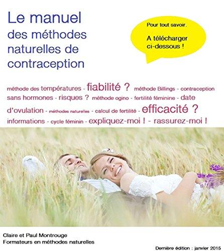 Le manuel des méthodes naturelles de contraception et de régulation des naissances par Paul et Claire Montrouge