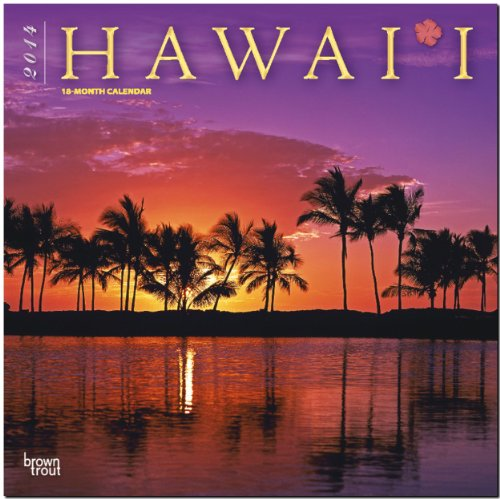 Hawaii 2014: Original BrownTrout-Kalender [Mehrsprachig] [Kalender]