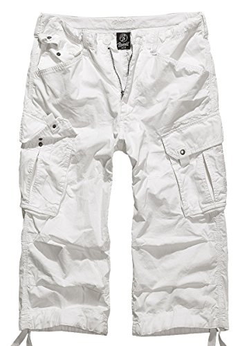 Brandit Columbia Mountain 3/4 Shorts, Gr. L, weiss