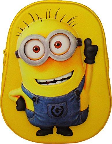 Fabrizio Kinder Rucksack Minions gelb