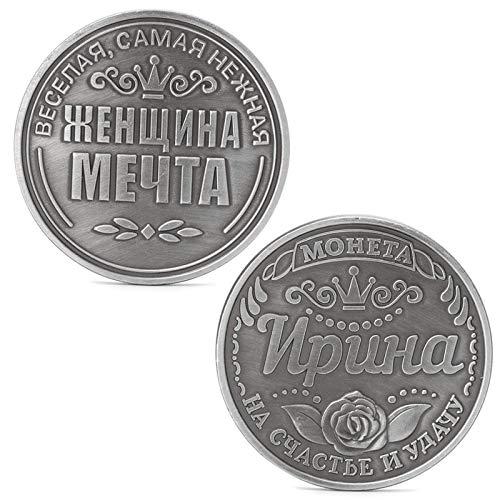 ruiruiNIE Russische Irina Gedenk Herausforderung Münzen Sammlung Sammeln Physisches Geschenk