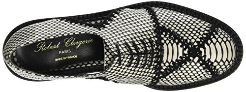 Robert Clergerie Jofre, Chaussures Lacées Femme Noir (EXOTIC)