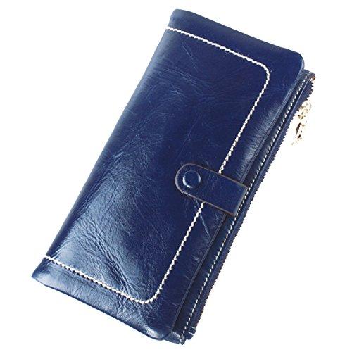 gogou-genuine-leather-ladies-wallets-cool-zippered-clutch-purse-hnadbag-darkblue