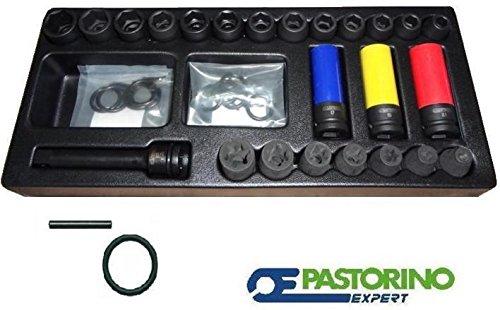 Assortiment douilles à Machine Kit pour chariot PaSTORINO expert E041604