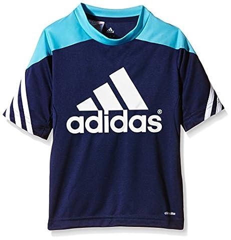 Adidas Sereno 14Boy's Training Jersey blue New Navy/Super Cyan/White Size:164 (EU)