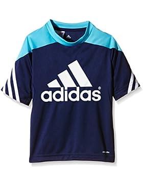 adidas Trikot Sereno 14 Training Jersey Camiseta, Niños, Azul Marino/Azul/Blanco, 116