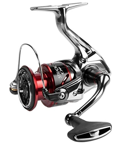 Shimano Stradic CI4+ 4000 XG FB Spinning Angelrolle mit Frontbremse, STCI44000XGFB
