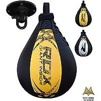 RDX MMA Peras Boxeo Pera Velocidad Doble End Bola Rapida Speed Bag Entrenamiento Gimnasio