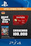 Grand Theft Auto Online | GTA V Red Shark Cash Card | 100,000 GTA-Dollars | PS4 Download Code - deutsches Konto