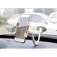 Car Phone iBarbe Holder Flexible Mobile Phone Holder,sucker Multi-angle Gooseneck Cell Phone Clip Holder Car Mount,Bed Lazy Bracket Mobile Stand,Support All Mobiles Cell Phone Holder