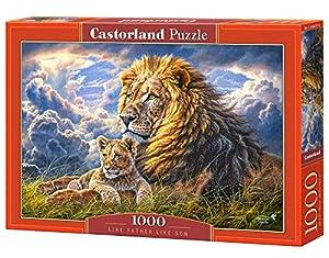Castor País C de 104277-2Father Like Son, Puzzle de 1000Piezas