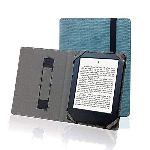 Enjoy-Unique Schutzhülle aus Naturleinen für 15,2cm (6Zoll) eBook Reader, universal, für Sony/Kobo/Tolino/Pocketbook - Sony Reader Ebooks Für